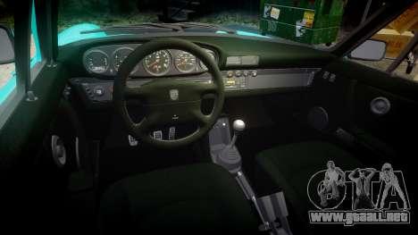 Porsche 911 Carrera 4 1989 para GTA 4 vista interior