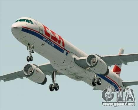 Airbus A321-200 CSA Czech Airlines para GTA San Andreas left