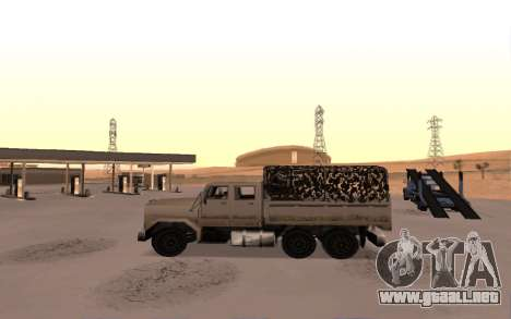 Cuartel con cuatro puertas para GTA San Andreas left
