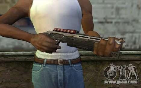 Shotgun from Deadpool para GTA San Andreas tercera pantalla