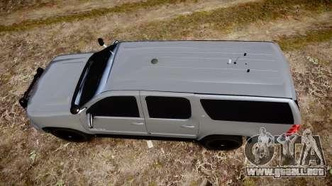 Chevrolet Suburban [ELS] Rims2 para GTA 4 visión correcta