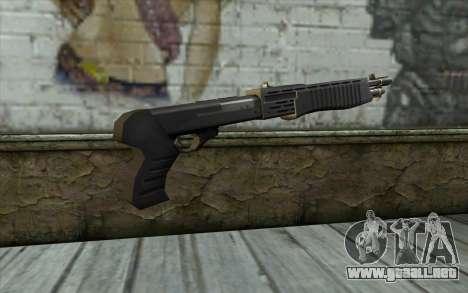 Escopeta de la Mitad de la Vida de la Paranoia para GTA San Andreas segunda pantalla