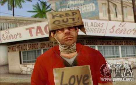 Vagabonds Skin 2 para GTA San Andreas tercera pantalla