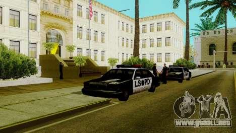 Un nuevo transporte en LSPD y su reactivación para GTA San Andreas