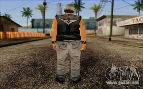 Biker from GTA Vice City Skin 2 para GTA San Andreas segunda pantalla