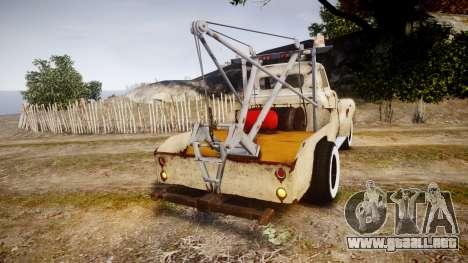 DMG Titan [EPM] Rusty para GTA 4 Vista posterior izquierda