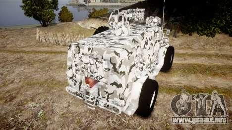 GAZ-3937 Vodnik para GTA 4 Vista posterior izquierda