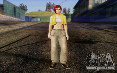 Mila 2Wave from Dead or Alive v18 para GTA San Andreas