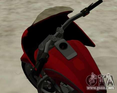 Bagger para visión interna GTA San Andreas