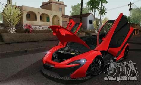 McLaren P1 HQ para la visión correcta GTA San Andreas