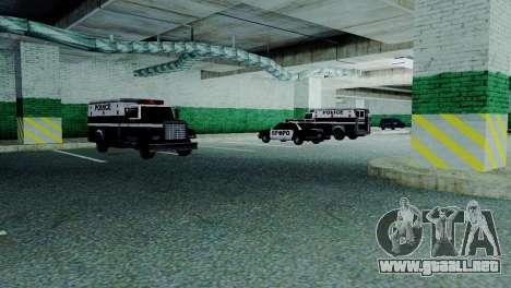 Los nuevos vehículos de la policía de san franci para GTA San Andreas sexta pantalla