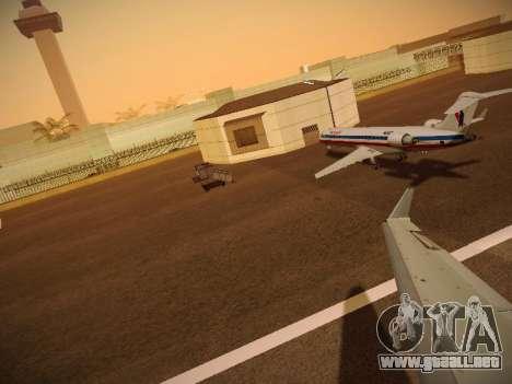 Bombardier CRJ-700 American Eagle para las ruedas de GTA San Andreas