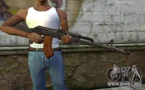 El AK-103 para GTA San Andreas tercera pantalla