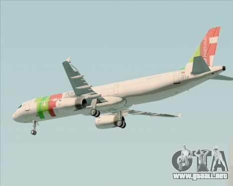 Airbus A321-200 TAP Portugal para el motor de GTA San Andreas
