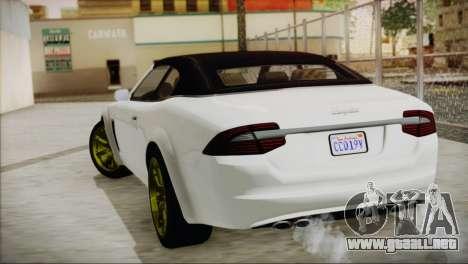 Lampadati Felon GT para GTA San Andreas left
