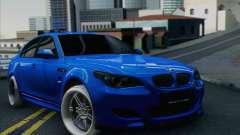 El BMW M5 E60 sedán para GTA San Andreas