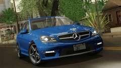Mercedes-Benz C63 AMG Sedan 2012