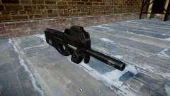 Pistola de Fabrique Nationale P90 para evitar se