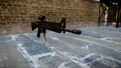 Rifle de M16A4 ACOG para GTA 4