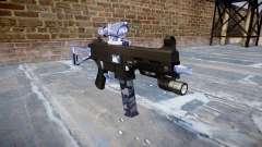 Pistola de UMP45 Azul Tigre