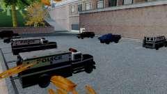 Los nuevos vehículos de la policía de san francisco para GTA San Andreas