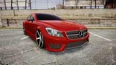 Mercedes-Benz CLS 63 AMG Vossen para GTA 4