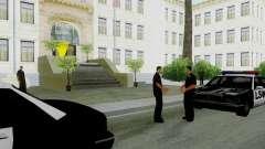 La reactivación de todas las comisarías de policía para GTA San Andreas