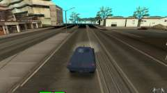 Car Indicator (HP) para GTA San Andreas
