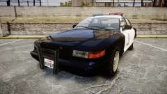 Vapid Police Cruiser GTA V LED [ELS] para GTA 4