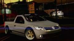 Volkswagen Saveiro Slammed