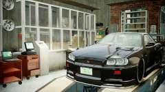 Garaje con nuevo interior Alcalina