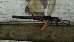 AKS-74U con PBS-5