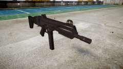 Pistola de SMT40 con la culata icon3 para GTA 4