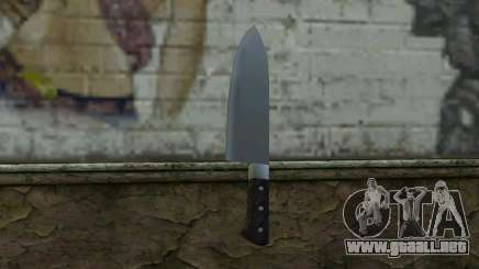 Kitchen Knife from Hitman 2 para GTA San Andreas