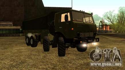 El KamAZ-6350 para GTA San Andreas