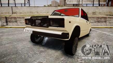VAZ-2107 estilo de azerbaiyán para GTA 4