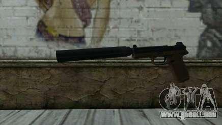 FN FNP-45 Con Silenciador para GTA San Andreas