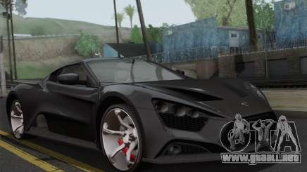 Zenvo ST1 v1.2 Final HD para GTA San Andreas