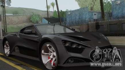 Zenvo ST1 v1.2 Final HD para GTA San Andreas