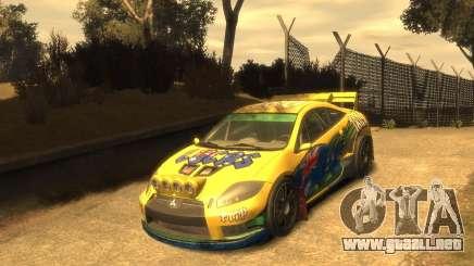 Mitsubishi Eclipse GT Rallycross para GTA 4