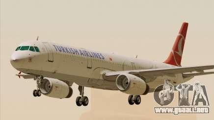 Airbus A321-200 Turkish Airlines para GTA San Andreas