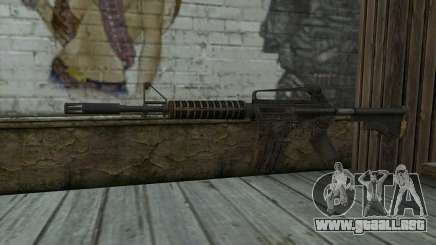 CAR-15 from Battlefield: Vietnam para GTA San Andreas