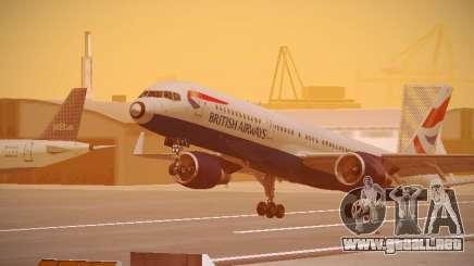 Boeing 757-236 British Airways para GTA San Andreas