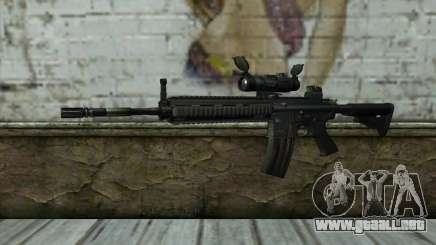 HK416 (Bump mapping) v1 para GTA San Andreas