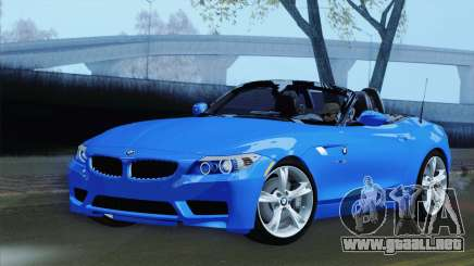 BMW Z4 sDrive28i 2012 Stock para GTA San Andreas