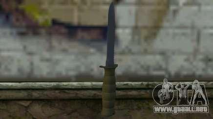 Cuchillo de combate (DayZ Standalone) v1 para GTA San Andreas