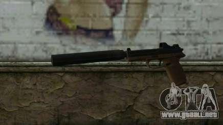 FN FNP-45 Con Silenciador y de la Vista para GTA San Andreas