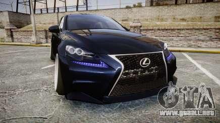 Lexus IS 350 F-Sport para GTA 4
