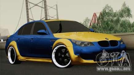 BMW M5 E60 Lumma para GTA San Andreas