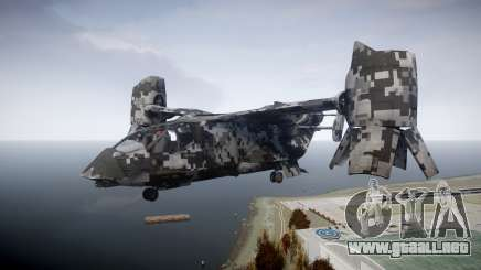 VTOL Warship PJ2 para GTA 4